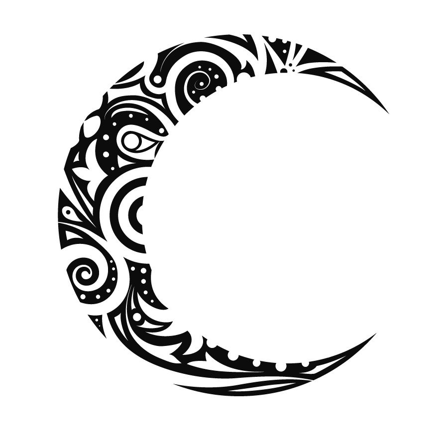 Tattoo Stencils Printable Moon: Idea By Kelsey Smith On Tattoos