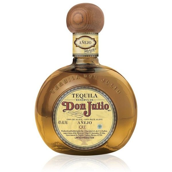 Don Julio Don Julio Anejo Tequila ($95) ❤ liked on Polyvore