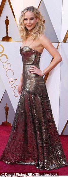 What an arrival: Jennifer Lawrence, Sandra Bullock, Lupita Nyong'o and Gal ...
