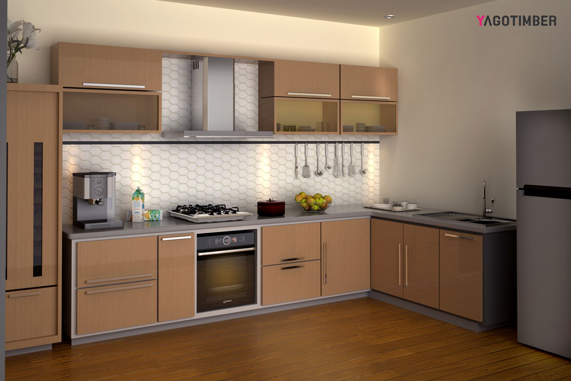 Modularkitchen Interiordesign Kitchen Designer In Delhi Yagotimber Kitchen Design Interior Design Kitchen L Shaped Kitchen Interior
