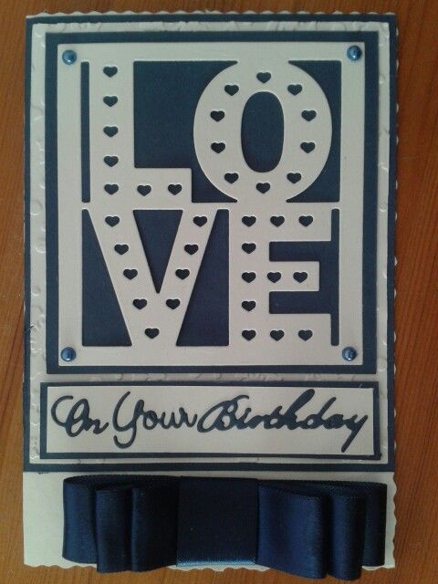Love Plaque  by Tattered Lace