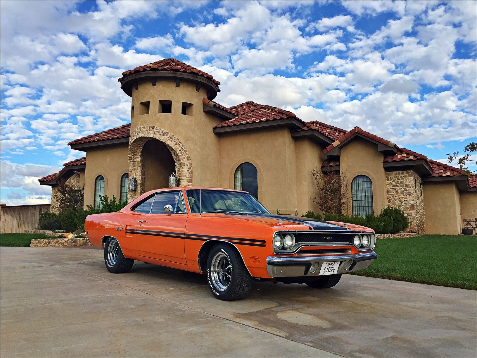 1970 Gtx All Original Numbers Match Vitamin C Orange Mopar