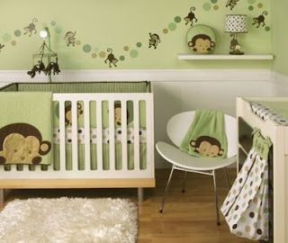 Birth Story Of Alexander John Monkey Baby Rooms Baby Nursery