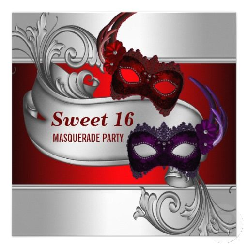 Masquerade Sweet 16 Party Ideas ... Love This