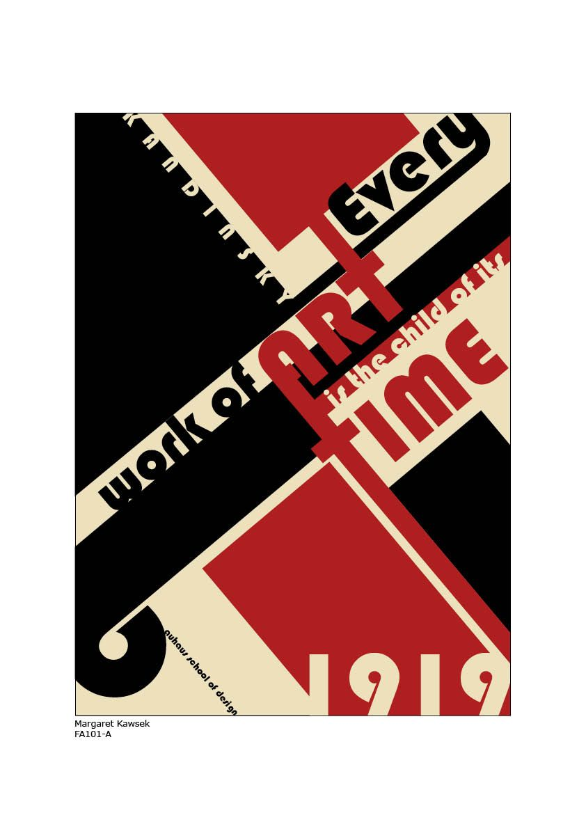Poster design gallery - Bauhaus Poster 2 By Megumi00 On Deviantart