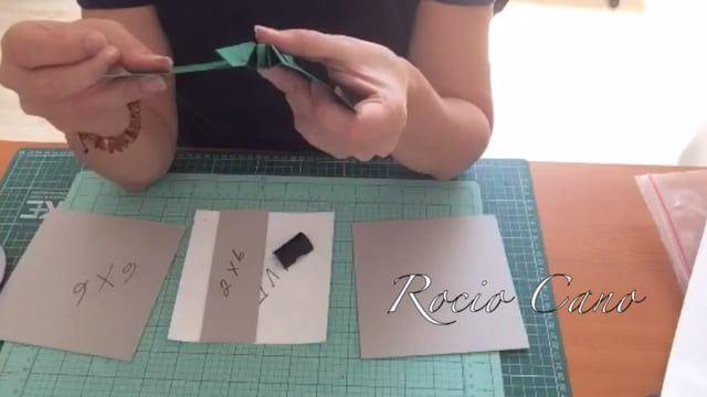 Con este vídeo aprenderás como elaborar la estructura de un mini álbum