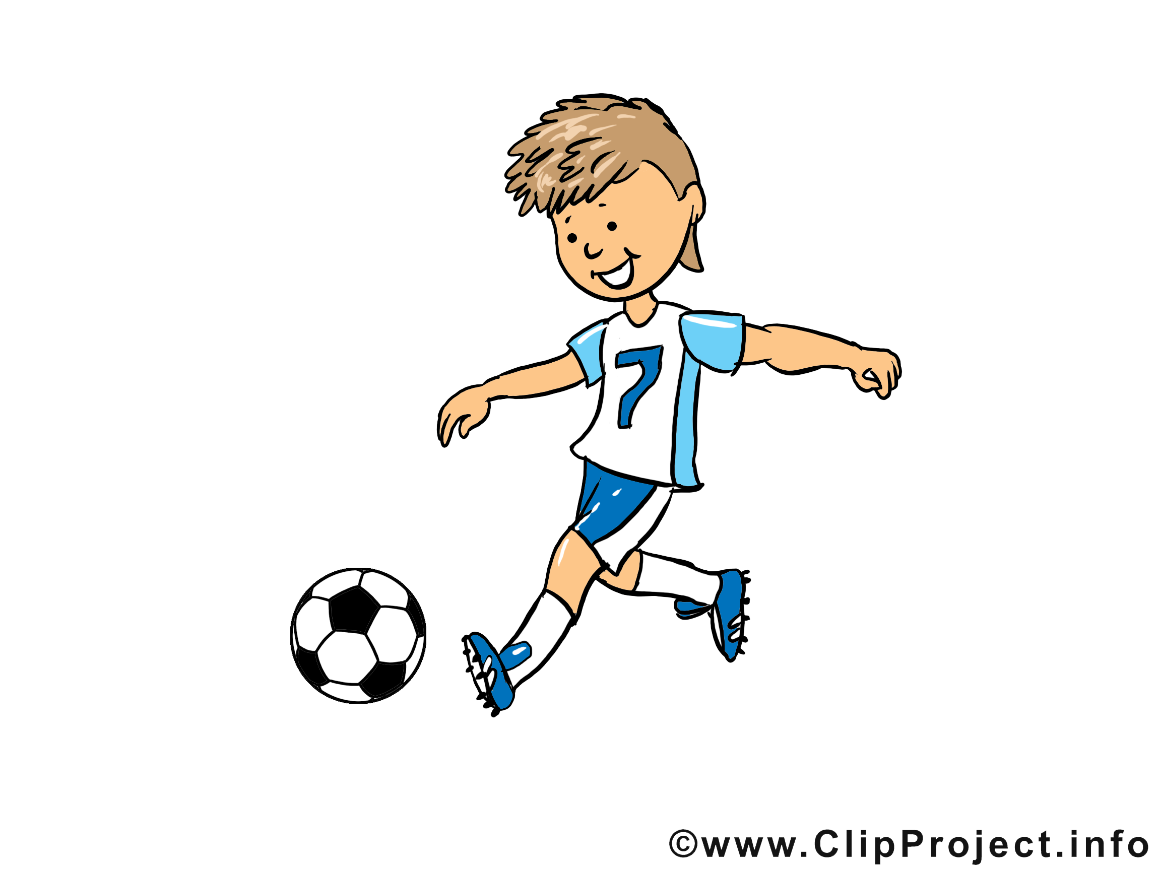 Clip Art Fussball Fussball Clips Und Kinder