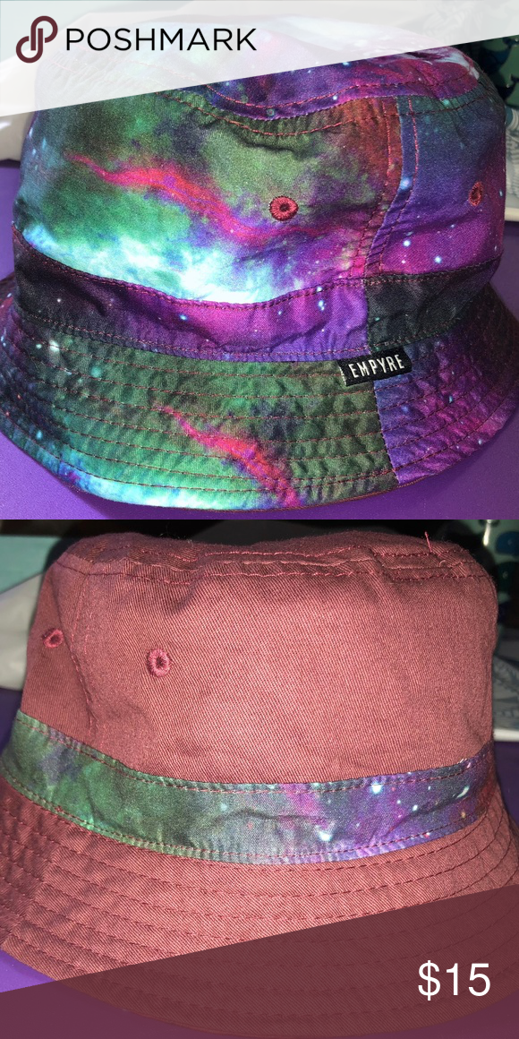 4fd061e6f4bc0 EMPYRE BRAND REVERSIBLE BUCKET HAT FROM ZUMIEZ New without tags Empyre  galaxy print reversible bucket hat