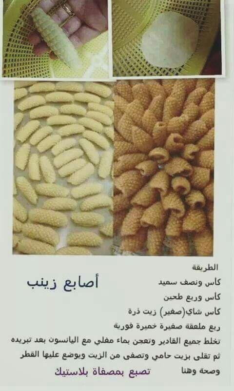 اصابع زينب Arabic Food Arabian Food Arabic Sweets