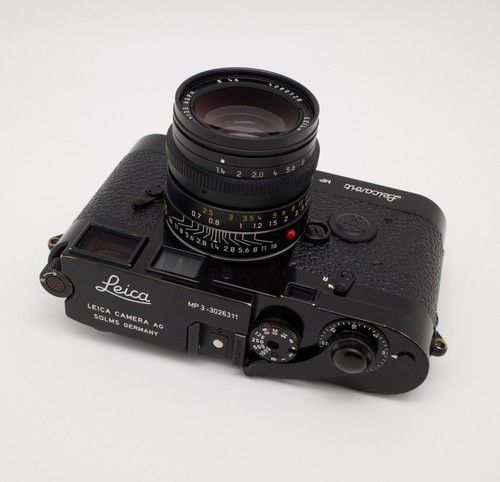Leica Mp 3 Black Paint Lhsa Special Edition By Dave Bird Powell