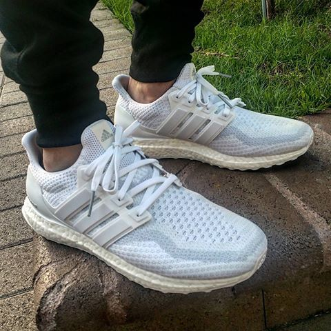 Shop Adidas Ultraboost Uncaged Cloud WhiteRunning White