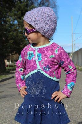 9e333c3f9ce9bc Freebook Bolero 68 - 140 | Sewing for kids | Jacke kinder nähen ...