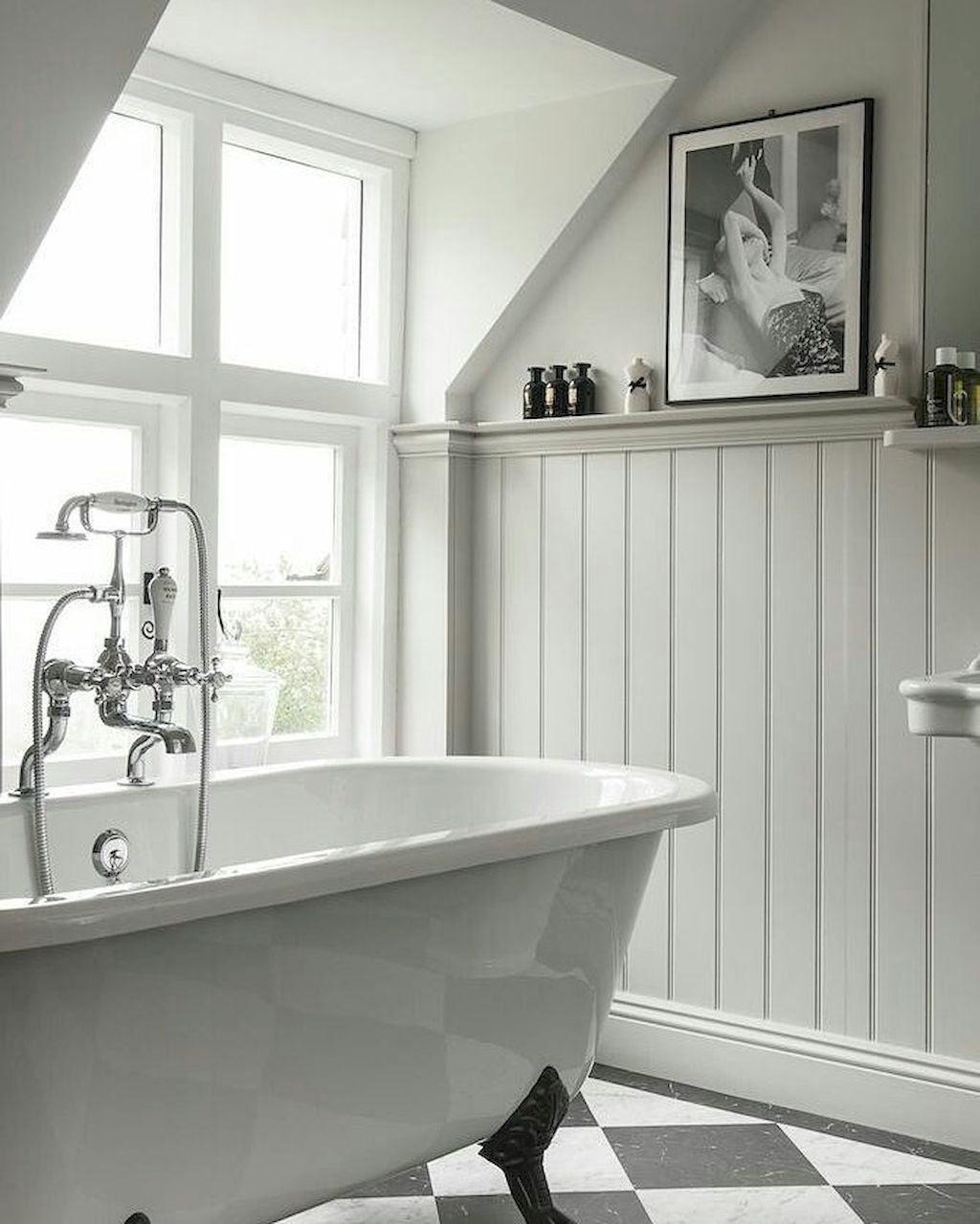 Home Art Bathroom Cladding Cottage Bathroom Shabby Chic Bathroom