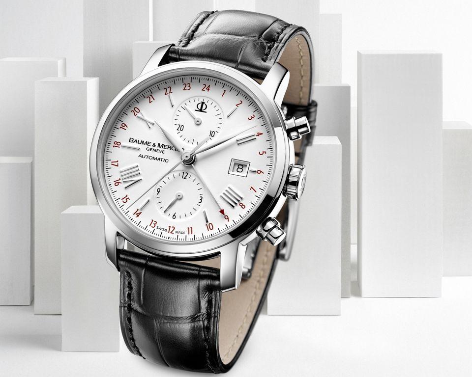 6554192eccd Baume-Mercier-Classima-Executives-XL-Chronographe-Double-Fuseau-Horaire-8851