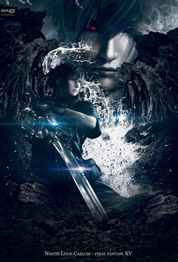 Noctis Lucis Caelum -FinalFantasy 15 by NinaEva01ngeline ...  Noctis