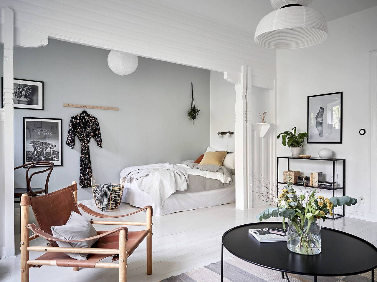 Scandinavian Studio Apartment Decoracion De Interiores Decoracion De Unas Interiores