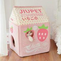 Photo of Kawaii strawberry cat home from Honey Bunny