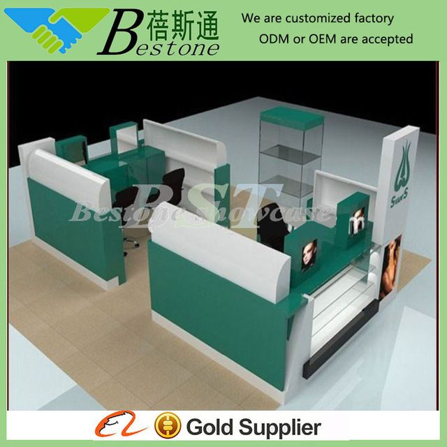 Eyebrow threading kiosk design from china kiosk producerbestone