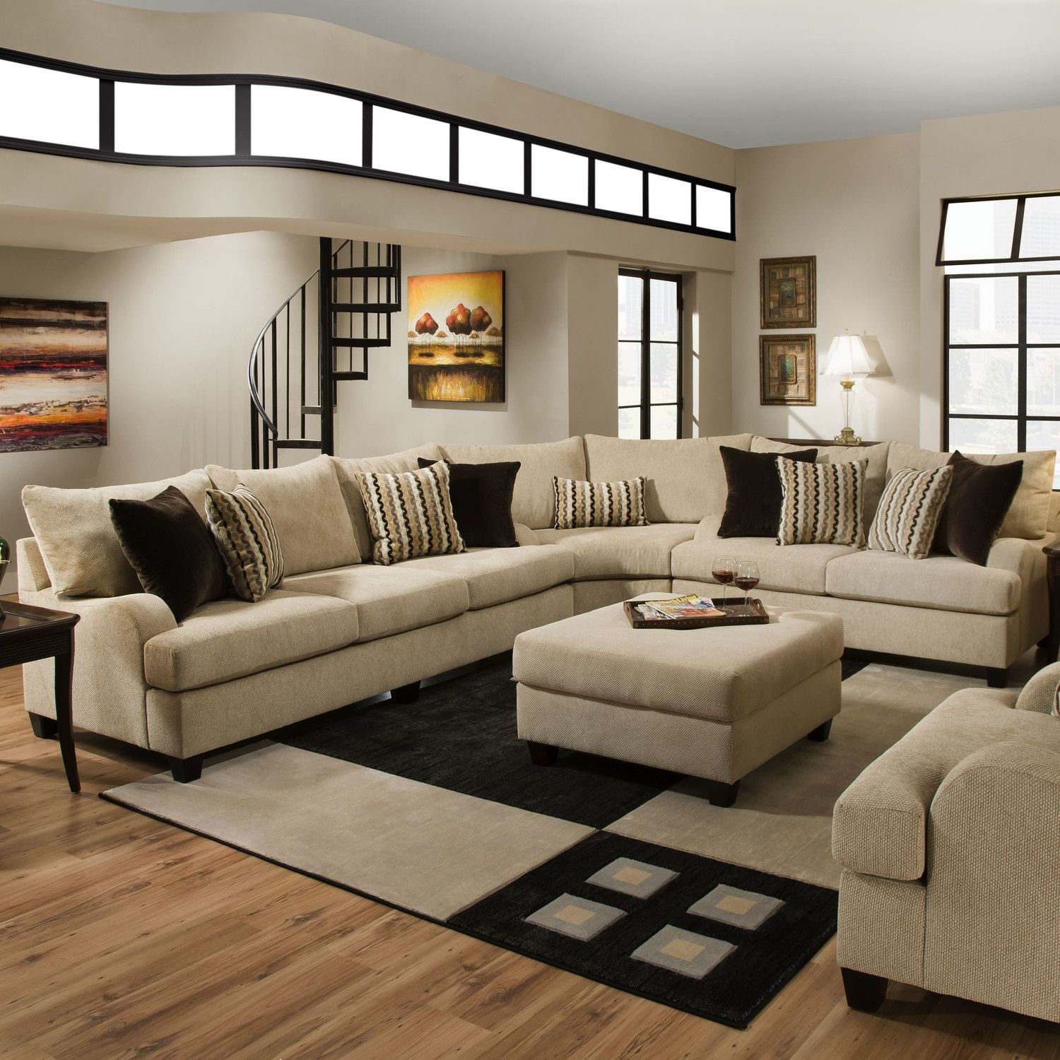 simmons living room furniture. Simmons Upholstery Trinidad Sectional · House FurnitureLiving Room Living Furniture A