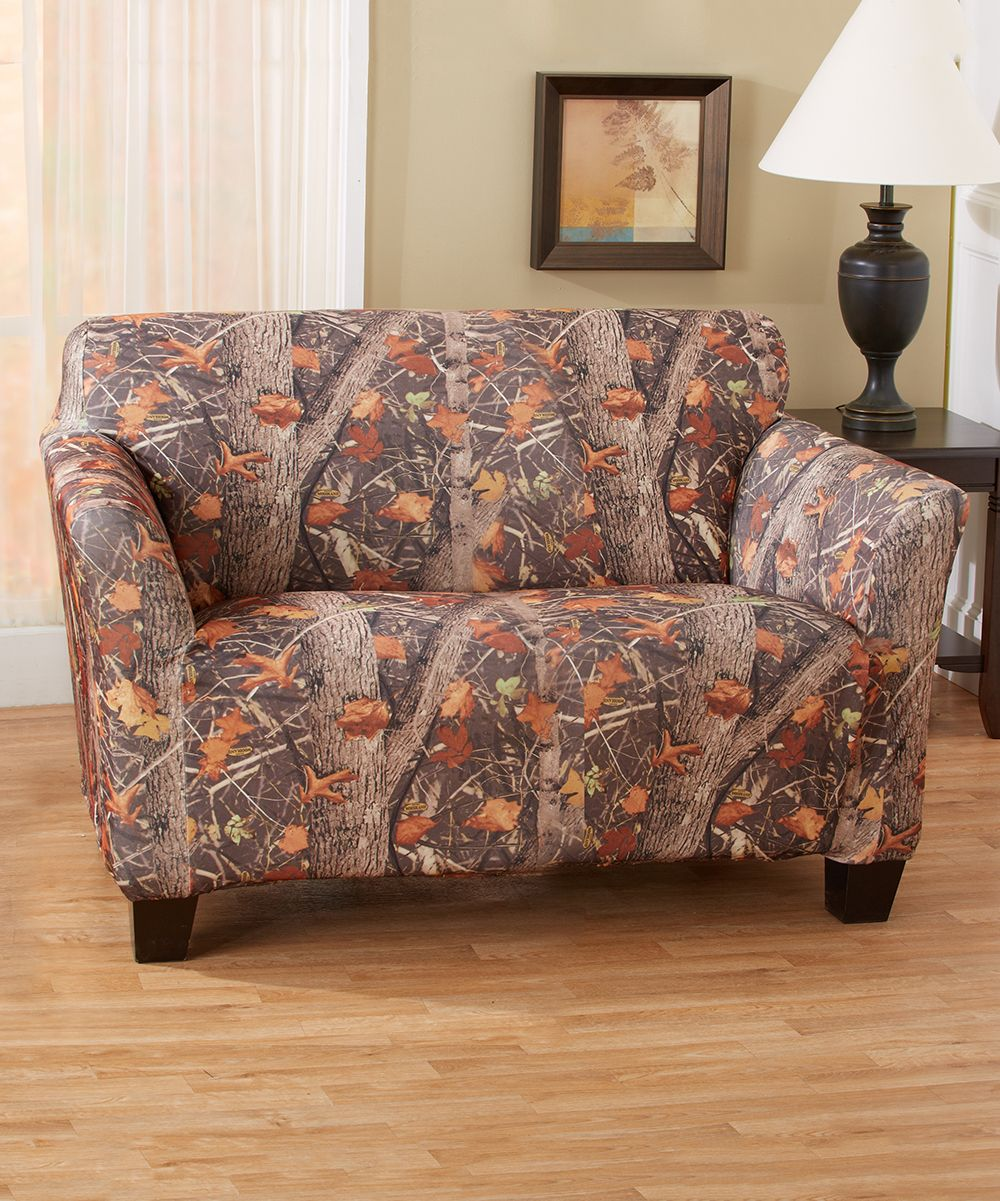 Woodland Camo Furniture Slipcover