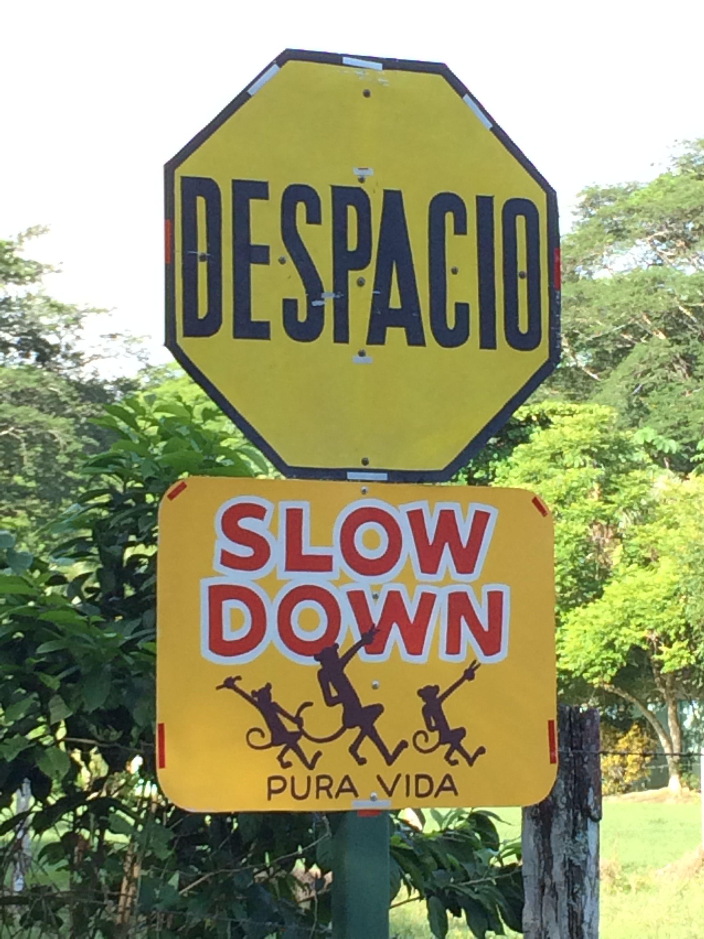 Posted near a school outside puerto jimenez costa rica signs costa rica biocorpaavc Gallery
