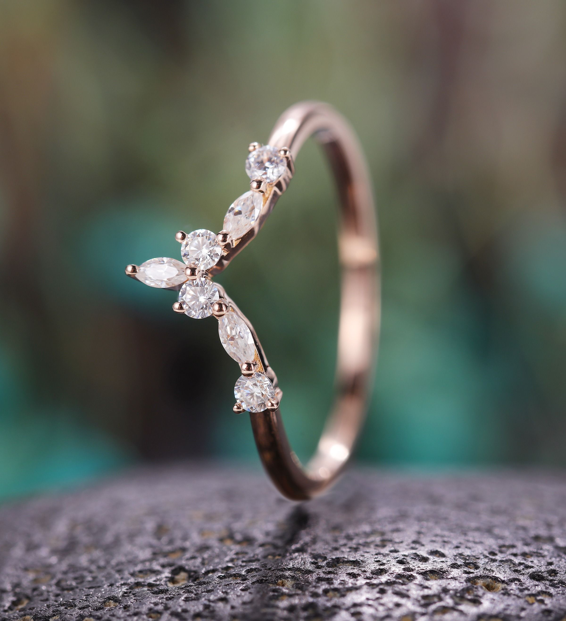 Pin by BrilliantRing on Curved Wedding Band Curved