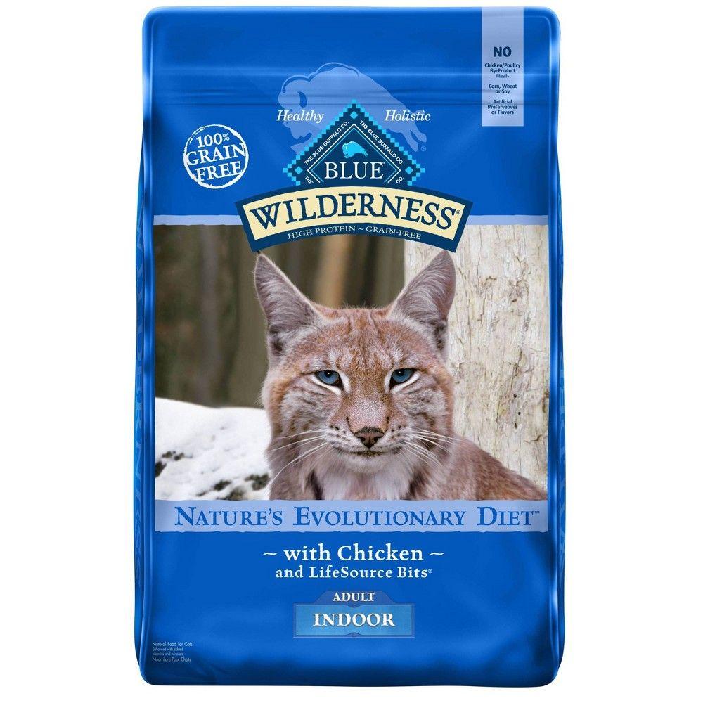 Blue Buffalo Wilderness Adult Indoor Chicken Dry Cat Food 11lb