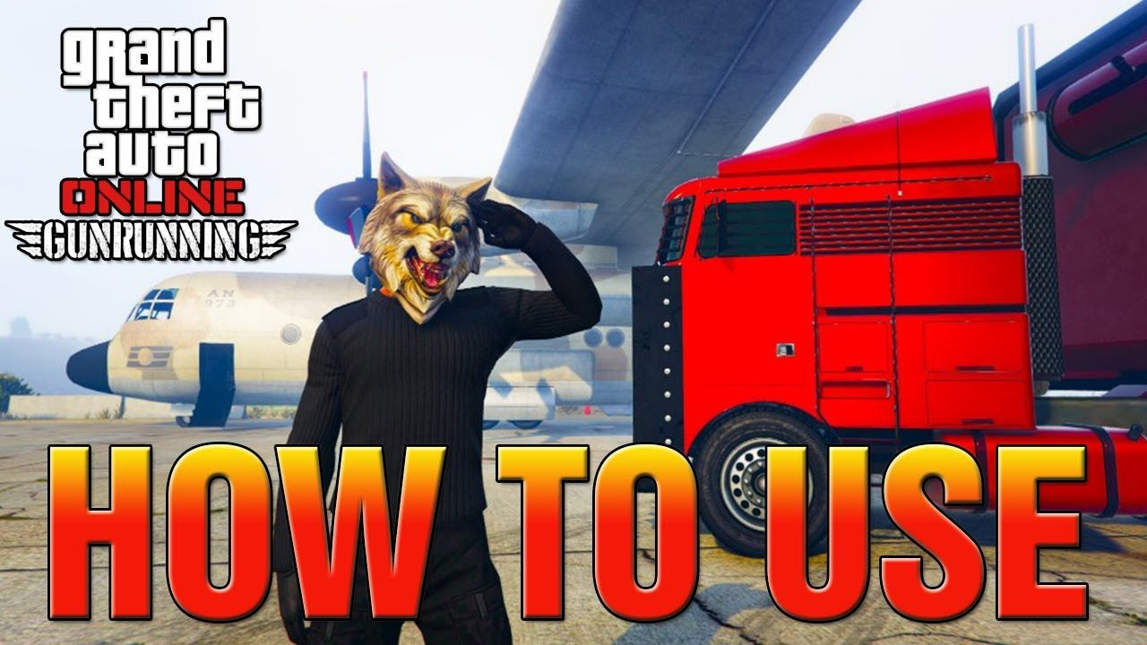 Gta 5 online dlc how to use moc mobile operations
