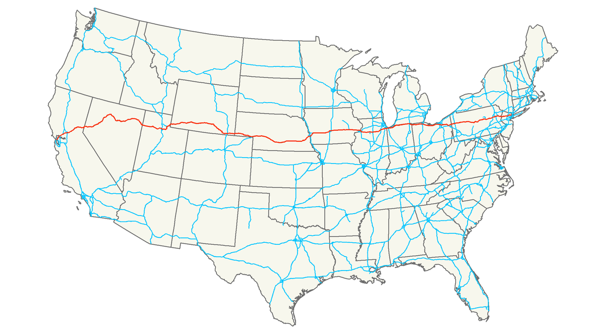 Interstate 80 - Wikipedia | I80 Road Trip! | Pinterest | Road trips