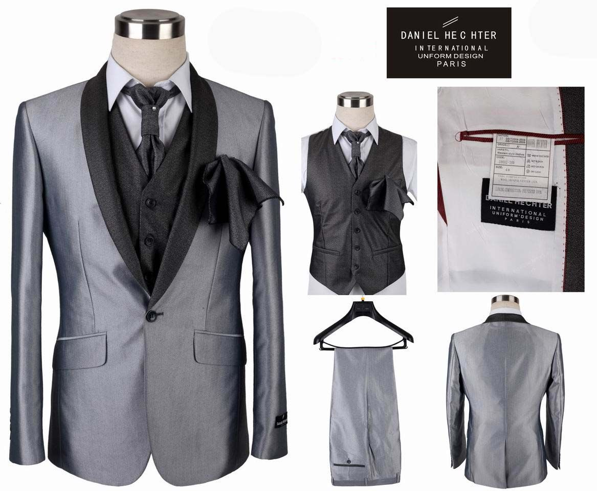 Mens Fashion Suits Tuxedo Single Ted Business One On Wedding For Men Size