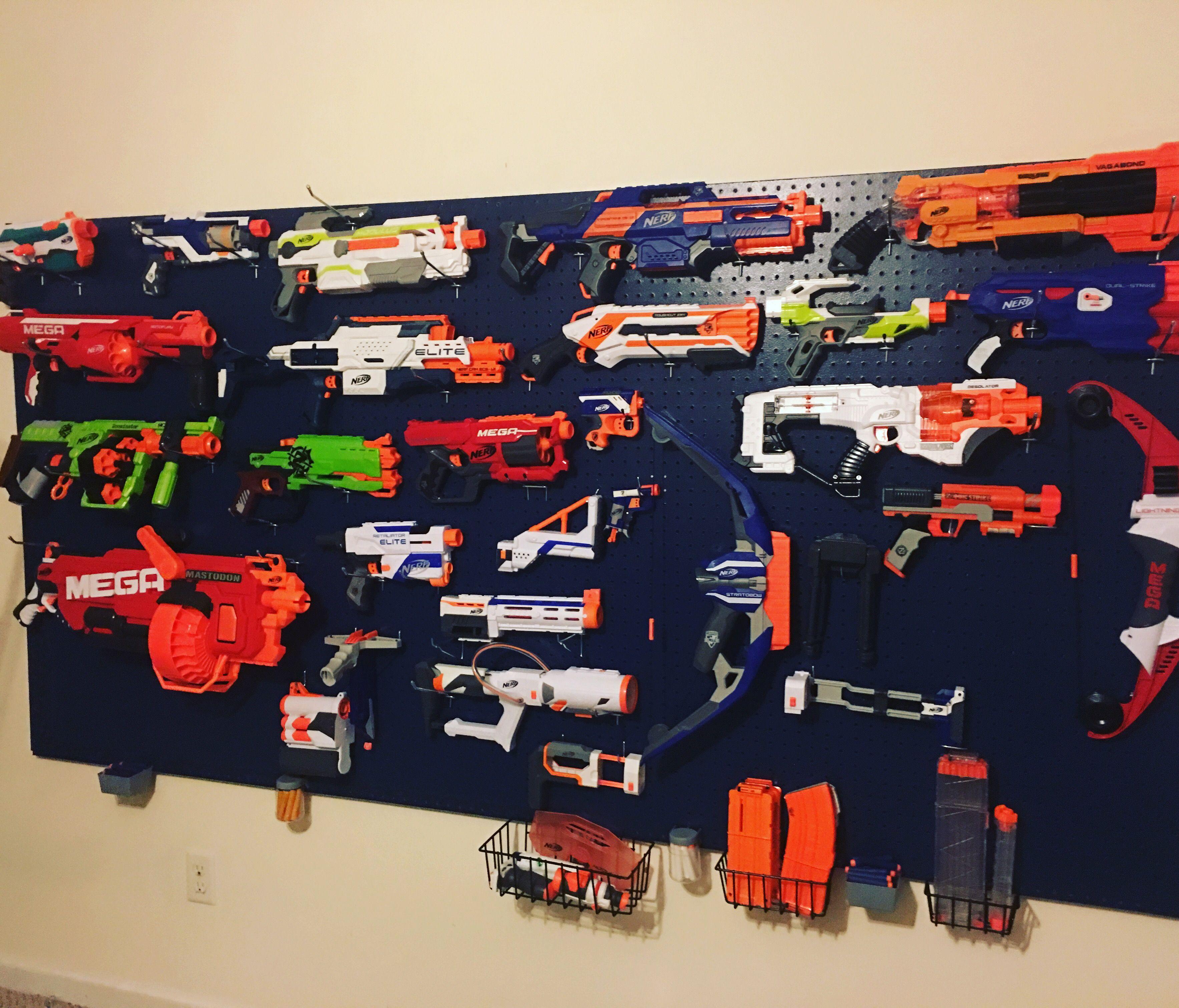 Nerf Gun Storage Kids In 2019 Nerf Gun Storage Nerf