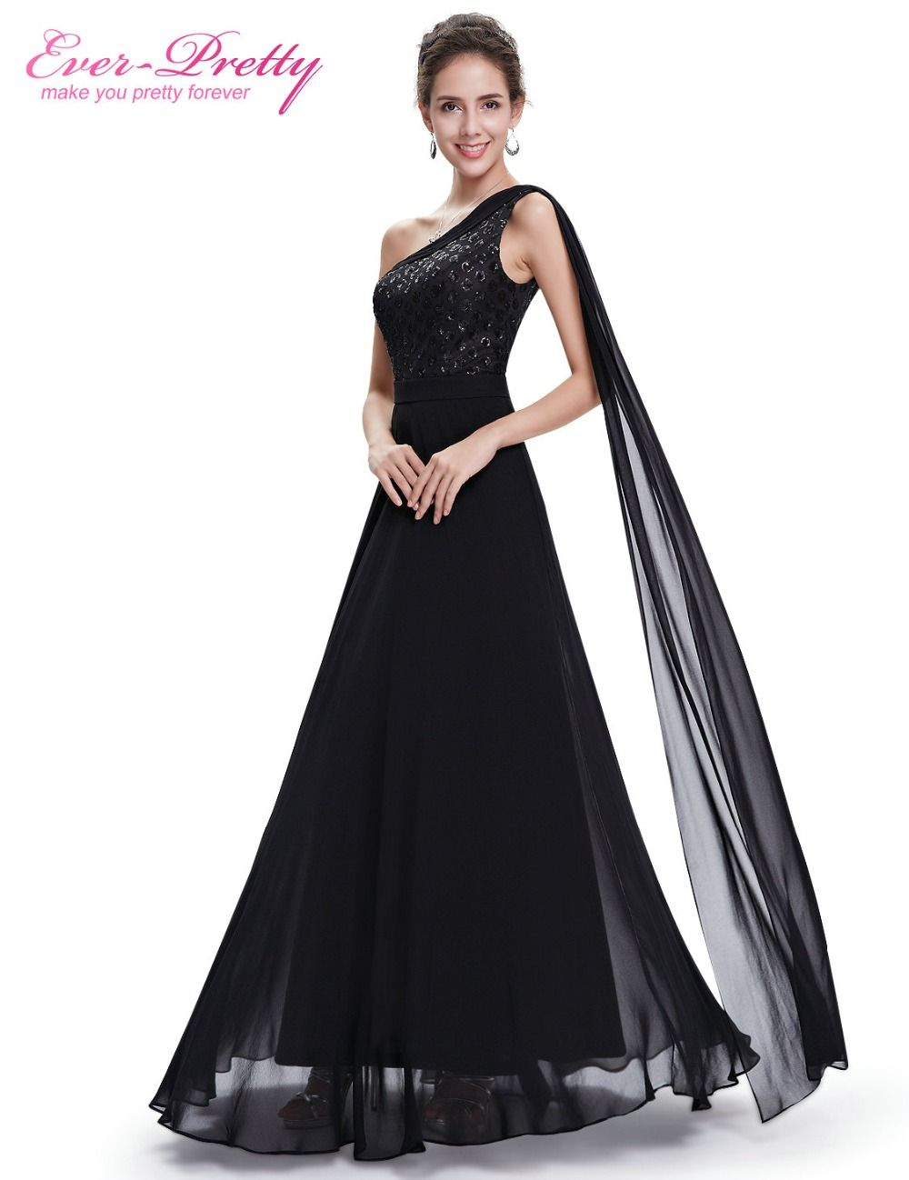 Formal evening dress ever pretty he black women elegant vestido