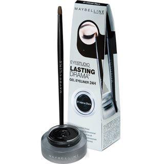 Maybelline Lasting Drama Gel Eyeliner 01 Black Maybelline Lasting Drama Gel Eyeliner Gel Eyeliner Maybelline Eye Studio