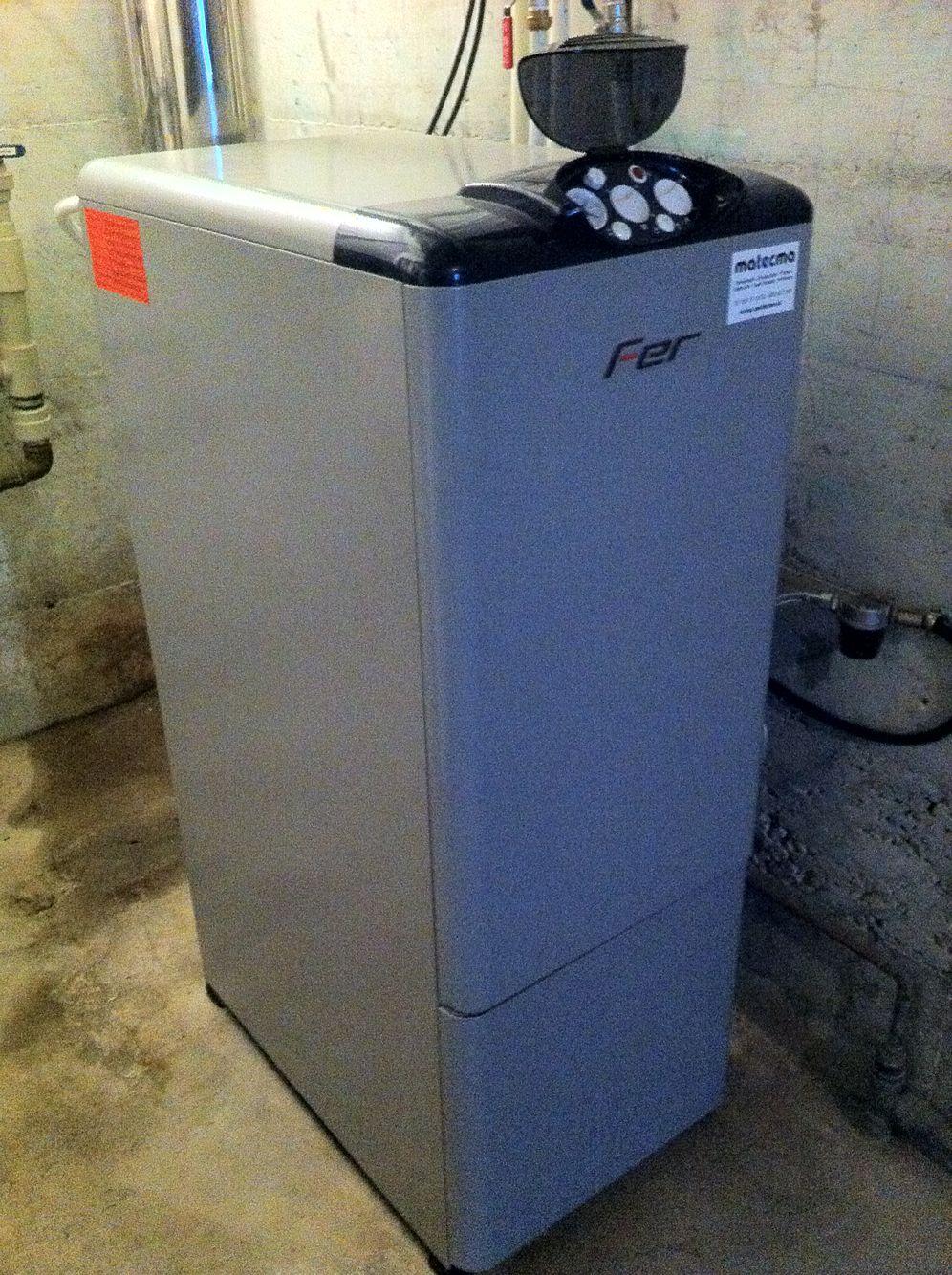 Instalaci n caldera gasoil para acs y calefacci n por for Caldera para suelo radiante
