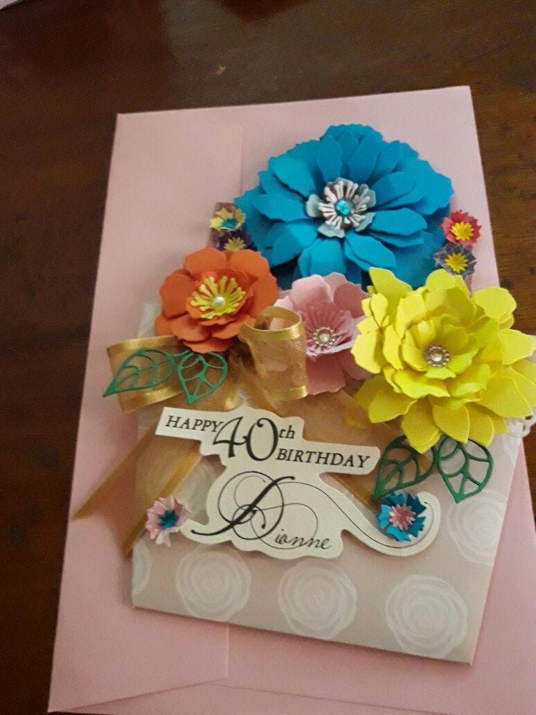 Flower pot greeting card petalus custom creations pinterest