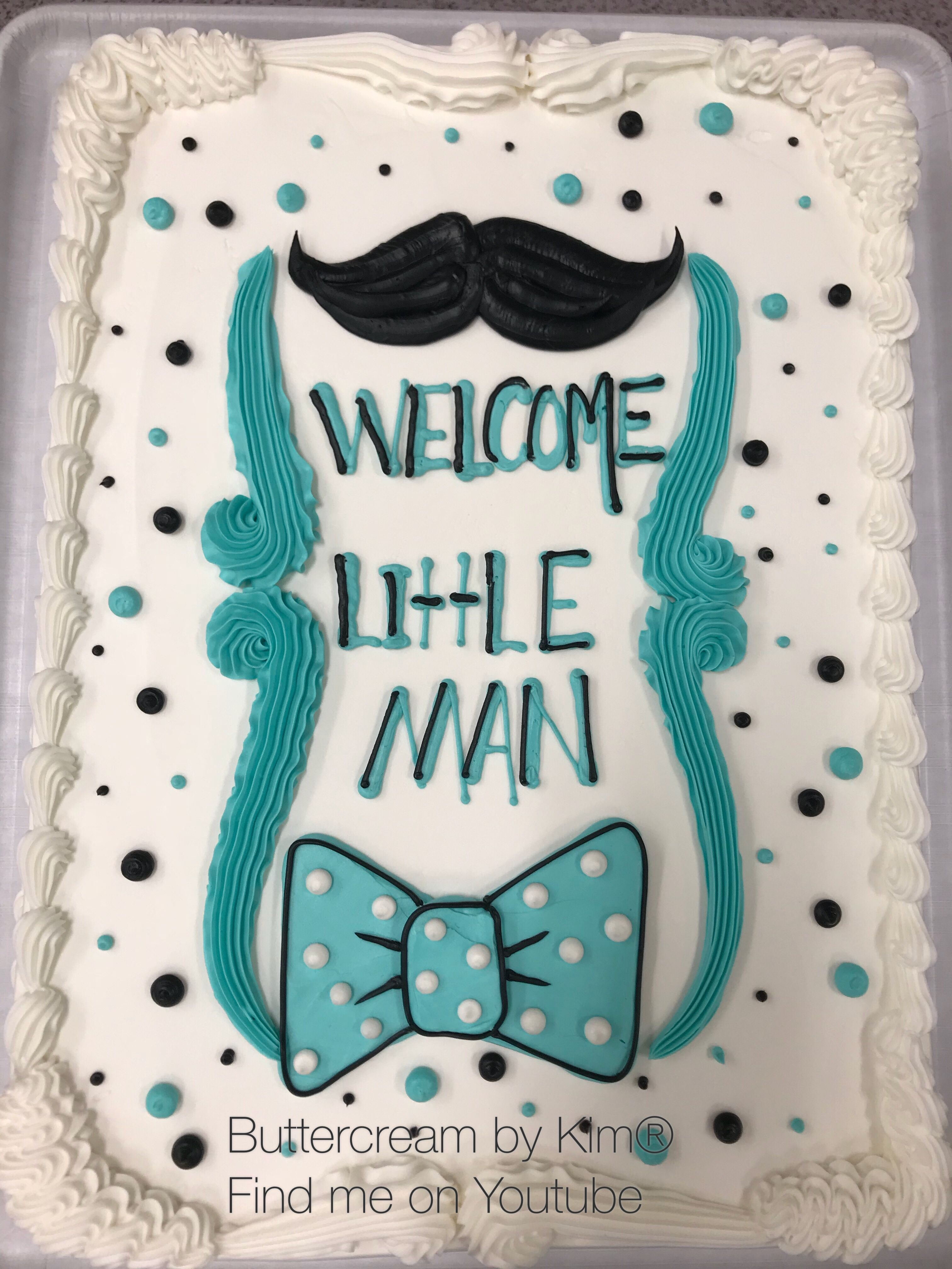 Lil Man Baby Shower Cakes : shower, cakes, Mustache, Shower, Cakes, Boys,, Shower,