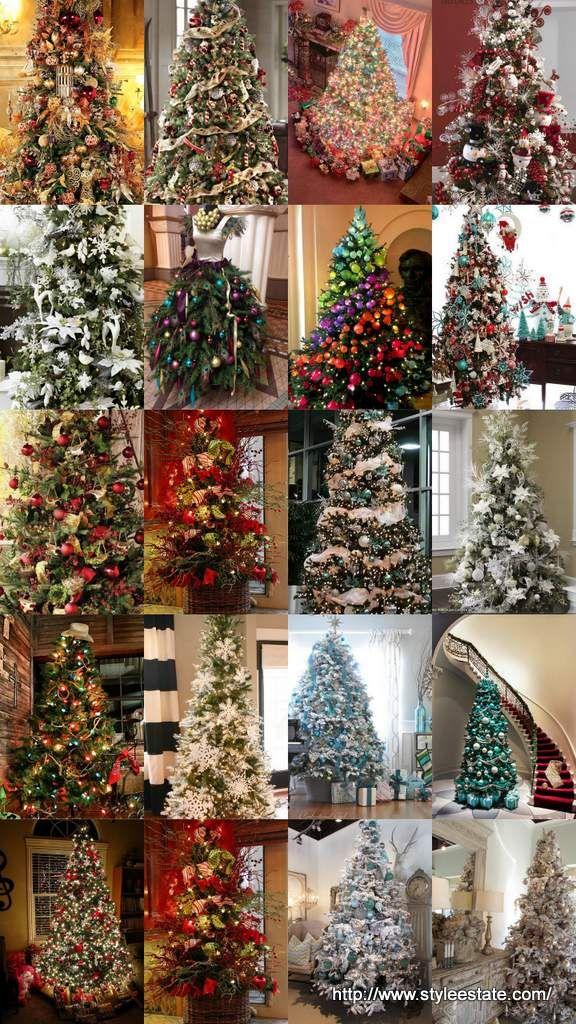 Latest Christmas Tree Decorating Ideas Part - 41: 20 Awesome Christmas Tree Decorating Ideas U0026 Inspirations