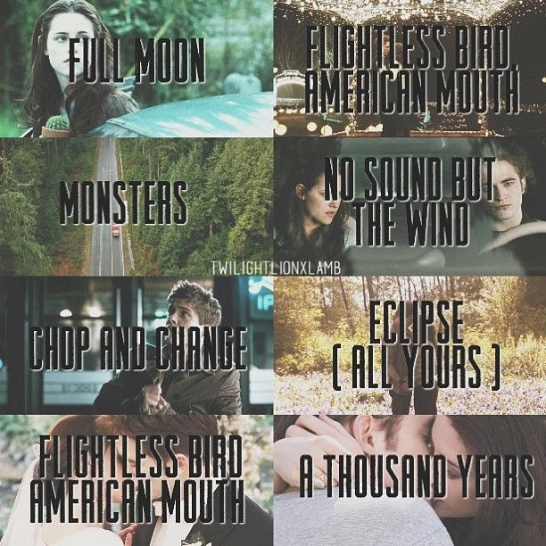 Twilight Saga music