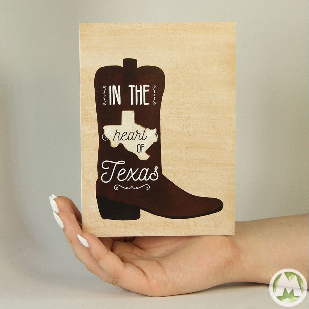 Heart of texas funny greeting card texas funny and products heart of texas funny greeting card memorytag greeting cards m4hsunfo
