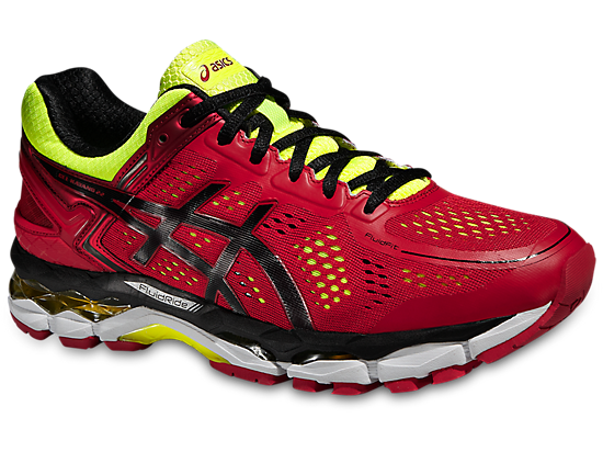 lace up in innovative design top design GEL-KAYANO 22 RED PEPPER/BLACK/FLASH YELLOW thumb 0 | My ...