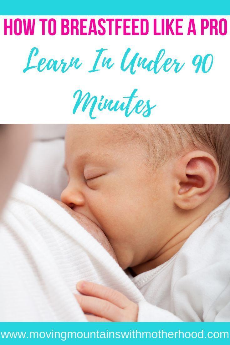 How to breastfeed like a pro breastfeeding baby sleep