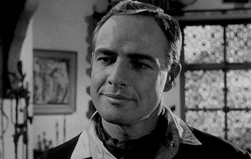 Marlon Brando in the film Morituri #Brando