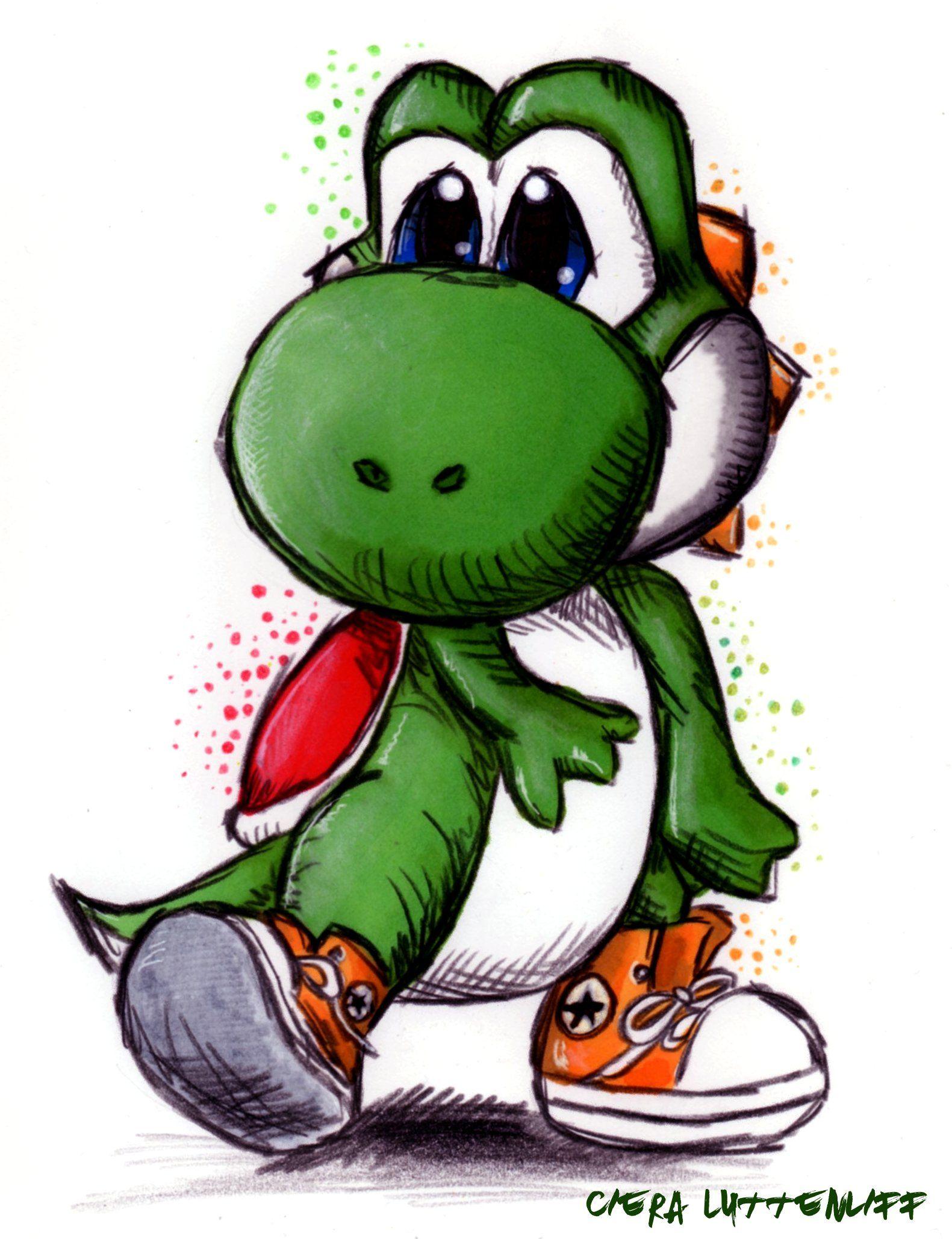 Lutenliff In 2020 Yoshi Drawing Graffiti Doodles Yoshi