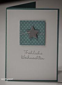 Stampin with Beemybear: Weihnachtskarte