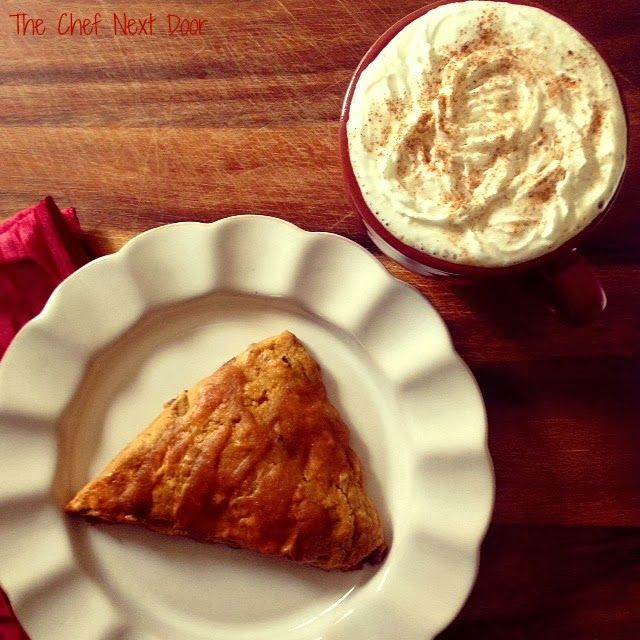 will my obsession with pumpkin ever end?!?  Glazed Pumpkin Pecan Scones