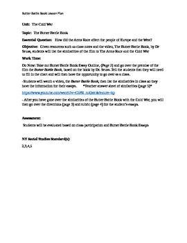 A Modest Proposal Essay Cold War Butter Battle Book Essay Dr Seuss How To Write A Proposal Essay Paper also English Essay Sample Cold War Butter Battle Book Essay Dr Seuss  Cold Warvietnam  Persuasive Essay Samples High School