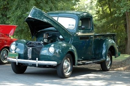 how to restore an old ford truck