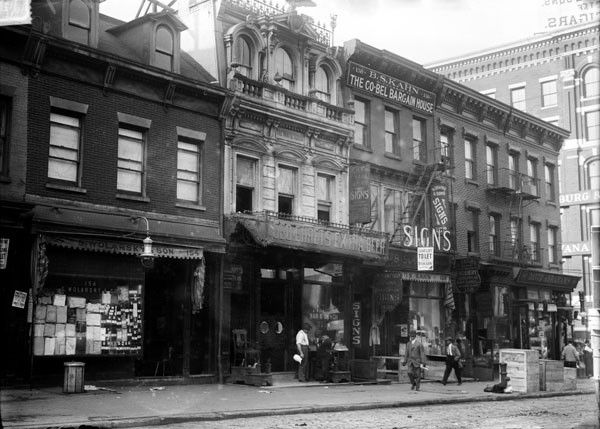 Early 1900s Street View White House Hotel New York City Photo Photo
