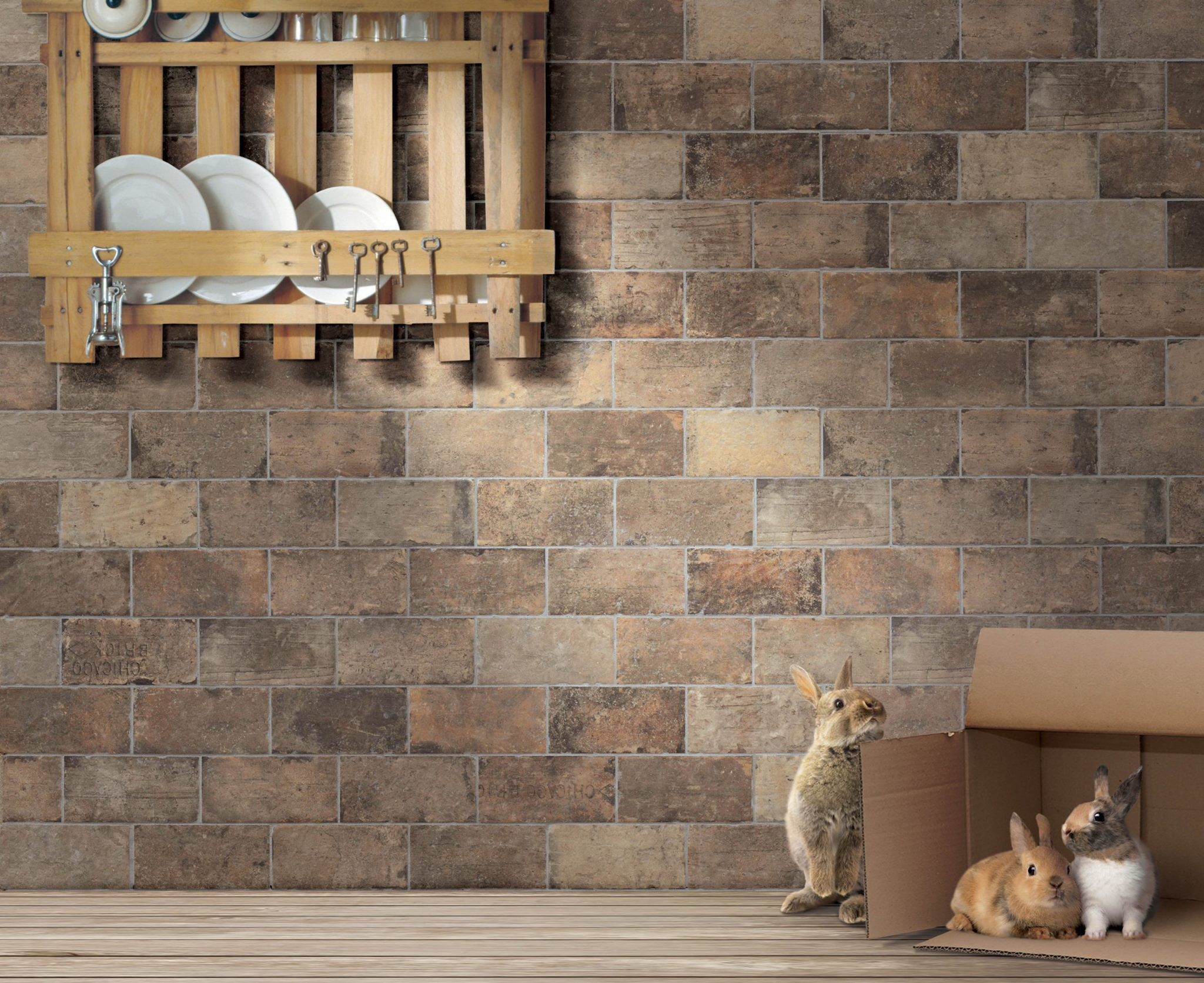 Porcelain Brick Tile Can Be Used In Any Application