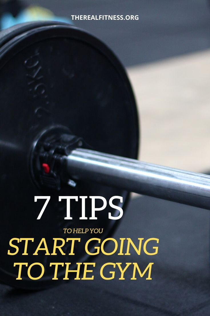 One of the most popular new year's resolutions is to finally start going to the gym. Here you have 7...